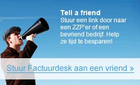 tell a friend over Factuurdesk